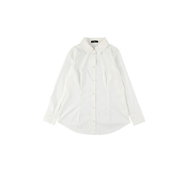 フィット ストレッチシャツ